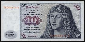 R.270c 10 DM 1970 YC Ersatznote (2)