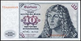R.270d 10 DM 1970 YE/A Ersatznote(1/1-)