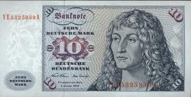R.270d 10 DM 1970 YE Ersatznote (2)