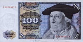 R.273c 100 DM 1970 ZA Ersatznote (1)
