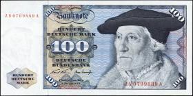 R.273c 100 DM 1970 ZN Ersatznote (1/1-)