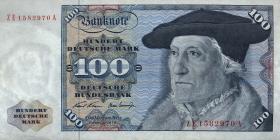 R.273d 100 DM 1970 ZE Ersatznote (2)