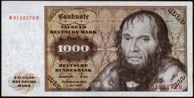 R.280a 1000 Deutsche Mark 1977 W/H (2)
