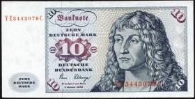 R.286b 10 DM 1980 YE/C Ersatznote (2)