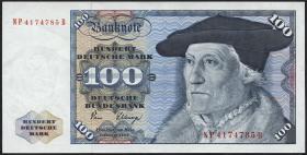 R.289a 100 DM 1980 Serie NP/B (1/1-)