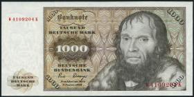 R.291a 1000 DM 1980 W/K (1/1-)