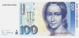 R.294b 100 DM 1989 ZA Ersatznote (1)