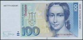 R.294F 100 DM 1989 (1) Fehldruck