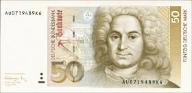 R.299a 50 DM 1991 Serie AU (1)