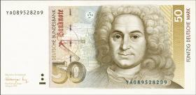 R.299b 50 DM 1991 YA/D Ersatznote (1)