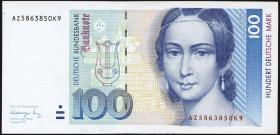 R.300a 100 DM 1991 (1-)