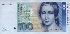 R.300a 100 DM 1991 Serie DA (1)