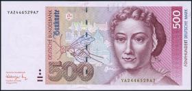 R.301b 500 DM 1991 YA Ersatznote (1)