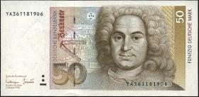 R.305b 50 Deutsche Mark 1993 YA Ersatznote (1)