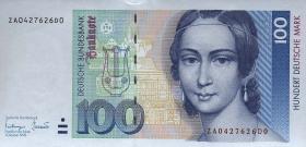 R.306b 100 DM 1993 ZA Ersatznote (1)