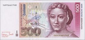 R.307b 500 DM 1993 YA Ersatznote (1)