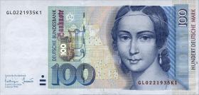 R.310b 100 DM 1996 Serie GY (1)