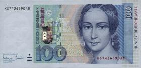R.310b 100 DM 1996 Serie KS (1)