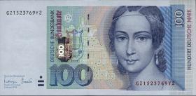 R.310b 100 DM 1996 Serie GZ (1)