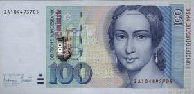 R.310c 100 DM 1996 ZA Ersatznote (1)