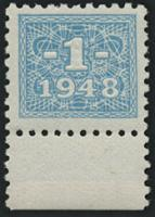 R.330 1 DM 1948 Kupon mit original Gummi (1)