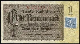 R.330a: 1 DM 1948 Kuponausgabe 7-stellig  (1/1-)