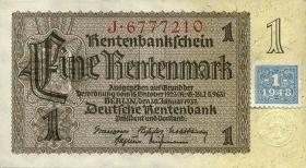 R.330a: 1 DM 1948 Kuponausgabe 7-stellig  (1)