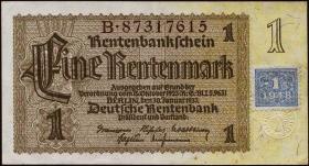 R.330F 1 DM 1948 Kuponausgabe braune Kenn-Nummer (2)