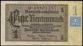 R.330F 1 DM 1948 Kuponausgabe braune Kenn-Nummer (3)