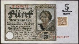R.332b: 5 DM 1948 Kuponausgabe (1/1-)