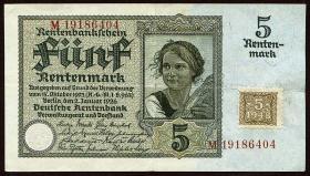 R.332b: 5 DM 1948 Kuponausgabe (3+)