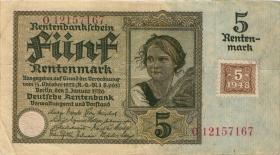 R.332b: 5 DM 1948 Kuponausgabe (3)