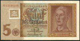 R.333M 5 DM 1948 Kuponausgabe Hitlerjunge MUSTER (1/1-)