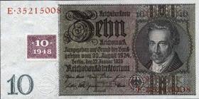 R.334a: 10 DM 1948 Kuponausgabe Serie E/E  (1)