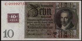 R.334c: 10 DM 1948 Kuponausgabe (2)