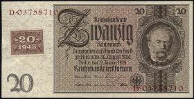 R.335c: 20 DM 1948 Kuponausgabe Siemens  (1)