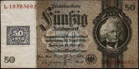 R.337: 50 Mark 1948 Kuponausgabe (3) Fälschung