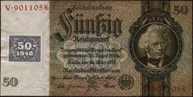R.337a: 50 Mark 1948 Kuponausgabe 7-stellig (1-)