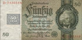 R.337a: 50 Mark 1948 Kuponausgabe (1)