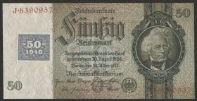 R.337a: 50 Mark 1948 Kuponausgabe (2)