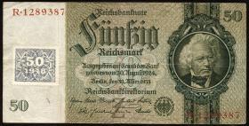 R.337a: 50 Mark 1948 Kuponausgabe (3)