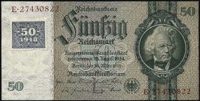 R.337b: 50 Mark 1948 Kuponausgabe  (1)