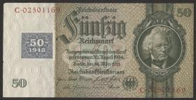 R.337c: 50 Mark 1948 Kuponausgabe  (2)