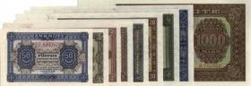 R.339-347: Banknotensatz 1948 (9 Werte) (1)