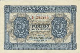 R.339a: 50 Pfennig 1948 Serie B 6-stellig (1)