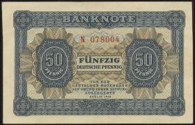 R.339a: 50 Pfennig 1948  6-stellig Serie N (1)