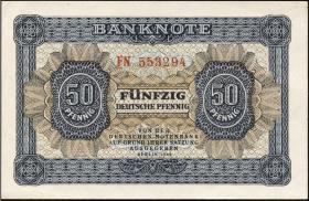 R.339b: 50 Pfennig 1948 6-stellig FN (1/1-)