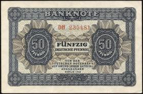 R.339b: 50 Pfennig 1948 6-stellig Serie DH (2)