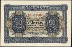R.339b: 50 Pfennig 1948 6-stellig EM (1/1-)