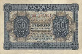 R.339b: 50 Pfennig 1948 6-stellig (3)